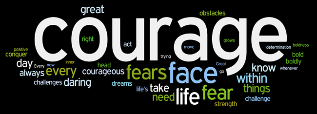 courage wordle